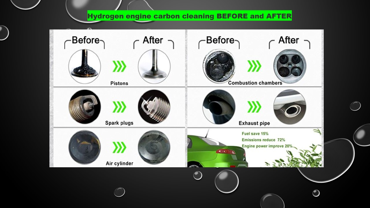 Hydrogen Carbon Clean Before + After Picture Results